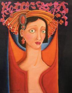 Maria Dolores, 2010, óleo sobre tela, 18 x 24. Obra Vendida
