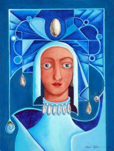 Maria Del Mar, 2010, óleo sobre tela, 18 x 24. Obra Vendida