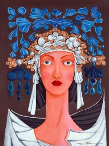 Maria Gilberto de las Nieves, 2010, óleo sobre tela, 18 x 24. Obra vendida